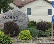 Ossian Entrance Sign